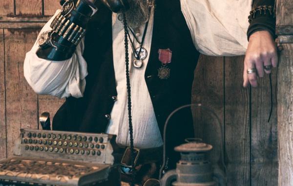 Steampunk portrait artiste model photographe